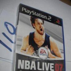Videojuegos y Consolas: ANTIGUO JUEGO PS2 - NBA LIVE 07. Lote 112151407
