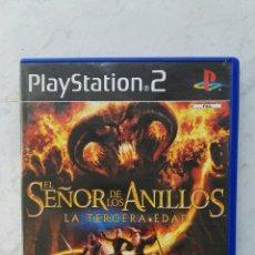 Videojuegos y Consolas: EL SEÑOR DE LOS ANILLOS LA TERCERA EDAD PS2. Lote 112171240
