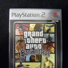 Videojuegos y Consolas: GRAND THEFT AUTO SAN ANDREAS PLATINUM. PLAY STATION PS2. COMPLETO. TODO EN CASTELLANO. Lote 112384483