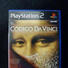 Videojuegos y Consolas: EL CÓDIGO DA VINCI. PLAY STATION PS2. COMPLETO. TODO EN CASTELLANO. Lote 112384547