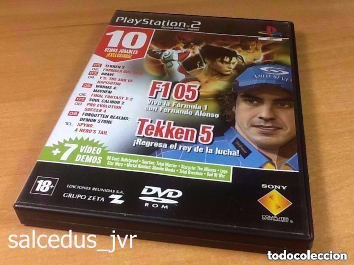 DEMOS DE JUEGO JUGABLES DE SONY PLAY STATION 2 PS2 PLAYSTATION PAL REVISTA OFICIAL Nº 55 (Juguetes - Videojuegos y Consolas - Sony - PS2)