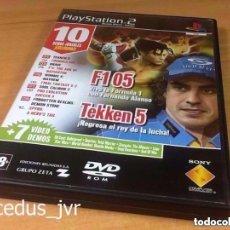 Videojuegos y Consolas: DEMOS DE JUEGO JUGABLES DE SONY PLAY STATION 2 PS2 PLAYSTATION PAL REVISTA OFICIAL Nº 55. Lote 124478558