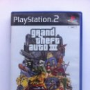Videojuegos y Consolas: GRAND THEFT AUTO III PS2 PLAYSTATION 2. Lote 112747327