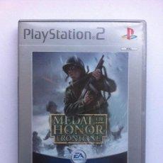 Videojuegos y Consolas: MEDAL OF HONOR FRONTLINE PS2 PLAYSTATION 2. Lote 112747607