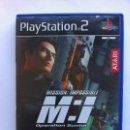 Videojuegos y Consolas: MISSION : IMPOSSIBLE M:I OPERATION SURMA ATARI PS2 PLAYSTATION 2. Lote 112750643