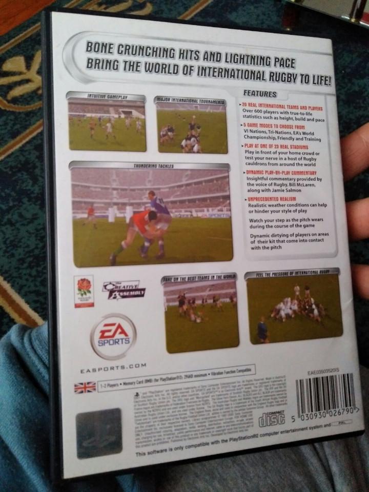 Videojuegos y Consolas: juego ps2 ea rugby - Foto 3 - 112765067