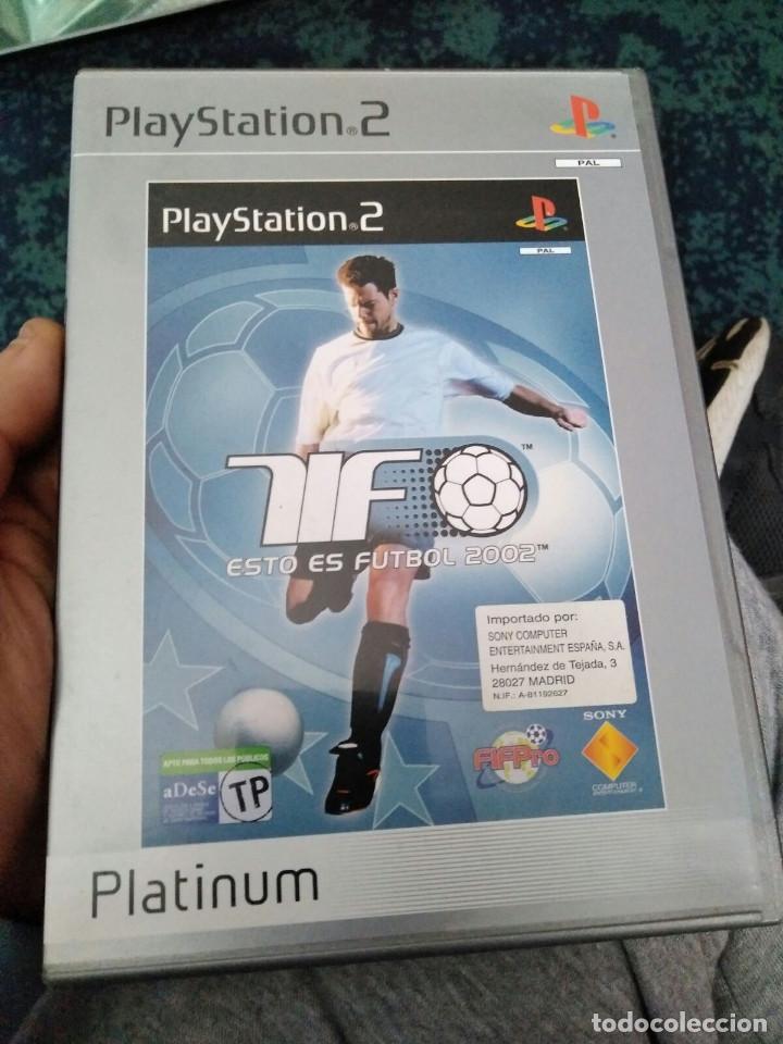 JUEGO PS2 ESTO ES FUTBOL (Juguetes - Videojuegos y Consolas - Sony - PS2)