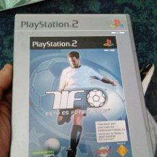 Videojuegos y Consolas: JUEGO PS2 ESTO ES FUTBOL . Lote 112767131
