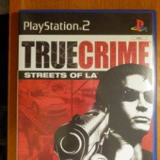 Videojuegos y Consolas: JUEGO CONSOLA - PLAYSTATION 2 - TRUE CRIME - STREETS OF LA - ACTIVISION - . Lote 113045531