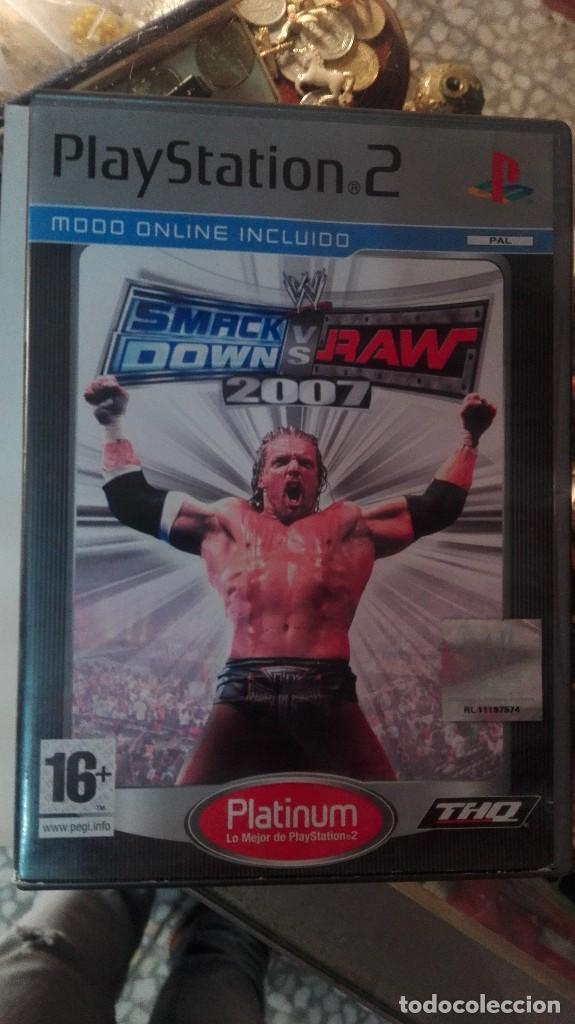 JUEGO PSP SMACK DOWN VS RAW 2007 - PLAYSTATION (Juguetes - Videojuegos y Consolas - Sony - PS2)