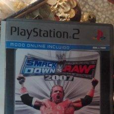 Videojuegos y Consolas: JUEGO PSP SMACK DOWN VS RAW 2007 - PLAYSTATION . Lote 113146963