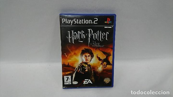 Juego Para Ps2 Harry Potter Y El Caliz De Fueg Comprar