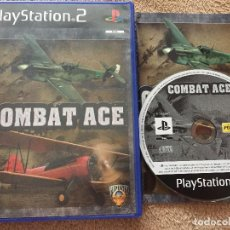 Videojogos e Consolas: COMBAT ACE COMBAT PS2 PLAYSTATION 2 PLAY STATION TWO KREATEN AVIONES SIMULACION PILOTAJE. Lote 113340563