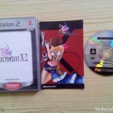 Videojuegos y Consolas: FINAL FANTASY X-2 - PS2 - PAL-ESPAÑA COMPLETO. Lote 113627415