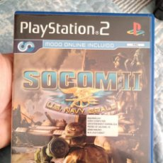 Videojuegos y Consolas: JUEGO DE PS2 SOCOM II . Lote 113798211
