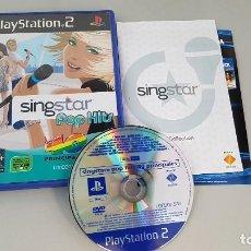 Videojuegos y Consolas: SINGSTAR POP HITS - 40 PRINCIPALES - JUEGO PS2. Lote 114128767