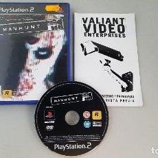 Videojuegos y Consolas: MANHUNT - JUEGO PS2. Lote 229474760