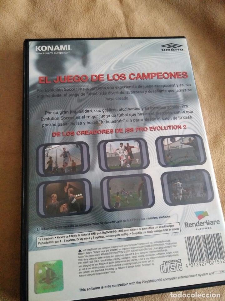 Videojuegos y Consolas: juego ps2 pro evolution soccer - Foto 3 - 114839675