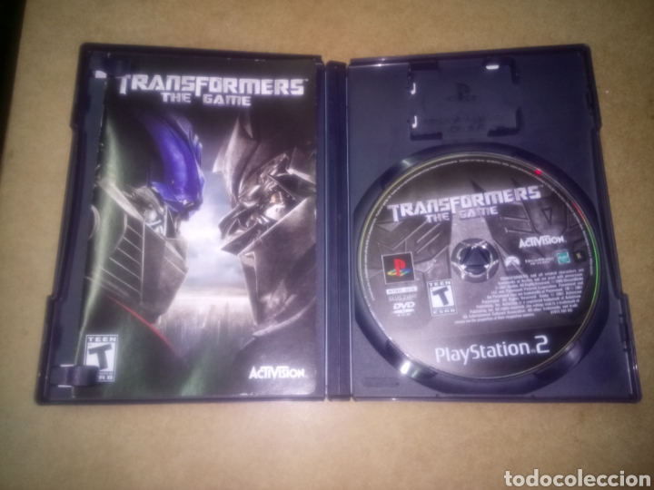 JUEGO DE PLAYSTATION 2, TRANSFORMERS THE GAME, COMPLETO CON INSTRUCCIONES (Juguetes - Videojuegos y Consolas - Sony - PS2)