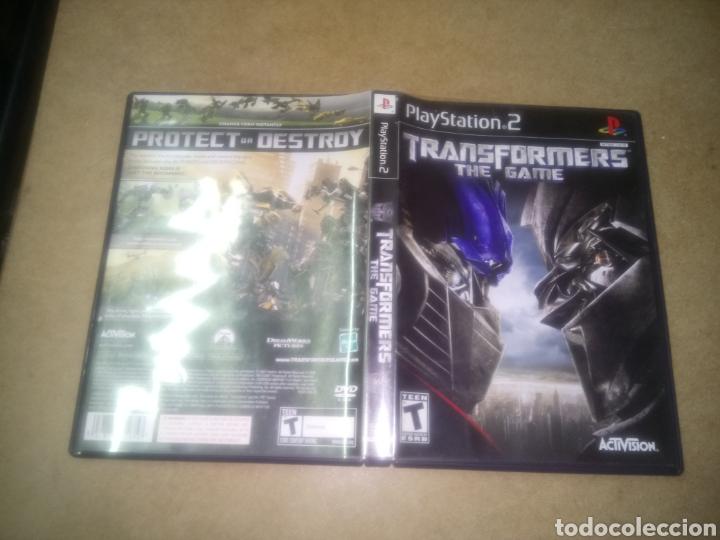 Videojuegos y Consolas: Juego de PlayStation 2, transformers the game, completo con instrucciones - Foto 2 - 114952610