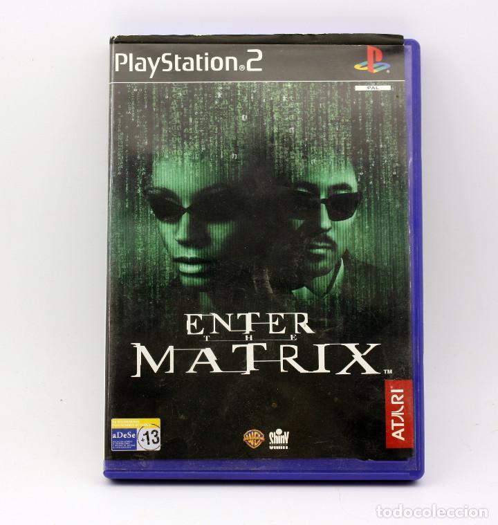 ENTER THE MATRIX - SONY PLAYSTATION 2 - PS2 (Juguetes - Videojuegos y Consolas - Sony - PS2)