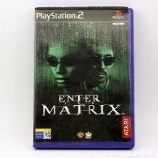 Videojuegos y Consolas: ENTER THE MATRIX - SONY PLAYSTATION 2 - PS2. Lote 211564207