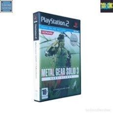 Videojuegos y Consolas: METAL GEAR SOLID 3 SUBSISTENCE / PLAYSTATION 2 PLAY STATION PS2 / PAL / KONAMI 2006 HIDEO KOJIMA. Lote 115693195