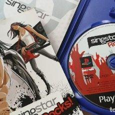 Videojuegos y Consolas: JUEGO SINGSTAR ROCKS SING STAR - PLAYSTATION 2 PLAY STATION - MÁS LIBROS. Lote 116512003