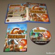 Videojuegos y Consolas: DARWIN - PS2 - SLES 54475 - ESSENTIAL GAMES - ¡ GUIA A LA RAZA HUMANA ! ¡ CAZA ANIMALES SALVAJES !. Lote 116701339