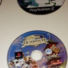 Videojuegos y Consolas: CAJ-101217 PLAYSTATION 2 SIN CARATULA SOLO DVD HARRY POTTER QUIDDITCH WORLD CUP. Lote 116707811