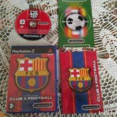 Videojuegos y Consolas: PLAYSTATION 2 FUTBOL CLUB BARCELONA PAL 2003/2004 RONALDINHO . Lote 120540164