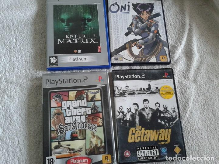 LOTE CUATRO JUEGOS PS2 GRAND THEFT AUTO MATRIX ONI (Juguetes - Videojuegos y Consolas - Sony - PS2)