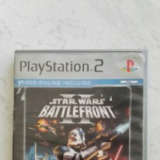Videojuegos y Consolas: STAR WARS BATTLEFRONT II PLAYSTATION 2 PS2 SIN MANUAL. Lote 117429838