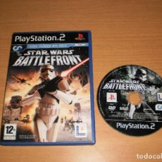 Videojuegos y Consolas: STAR WARS BATTLEFRONT 2 PLAYSTATION 2 PAL ESPAÑA (SIN MANUAL). Lote 117765415