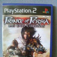 Videojuegos y Consolas: PRINCE OF PERSIA LAS DOS CORONAS COMPLETO PLAYSTATION 2 PS2 PAL ESPAÑA.. Lote 118016367