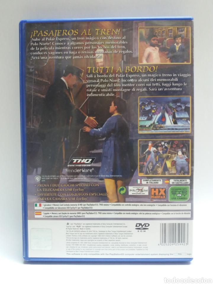 Videojuegos y Consolas: JUEGO PS2 POLAR EXPRESS, EN ESPAÑOL E ITALIANO - Foto 2 - 118233151