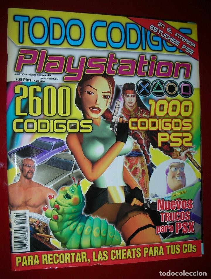REVISTA PLAYSTATION TODO CÓDIGOS:2600+1000 CÓD. PS2,NUEVOS TRUCOS PARA PSX. 98PÁG. NUEVA,COMPLETA (Juguetes - Videojuegos y Consolas - Sony - PS2)