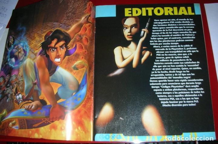 Videojuegos y Consolas: Revista Playstation TODO CÓDIGOS:2600+1000 cód. PS2,Nuevos Trucos para PSX. 98PÁG. NUEVA,COMPLETA - Foto 2 - 118333283