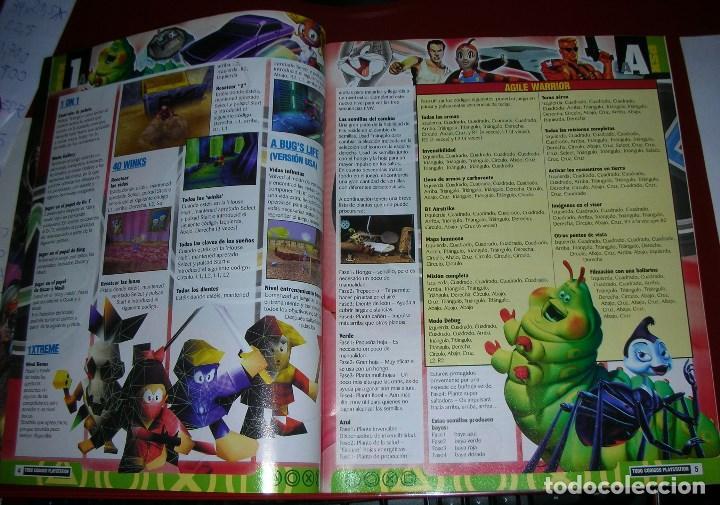 Videojuegos y Consolas: Revista Playstation TODO CÓDIGOS:2600+1000 cód. PS2,Nuevos Trucos para PSX. 98PÁG. NUEVA,COMPLETA - Foto 3 - 118333283