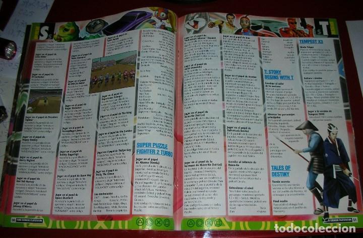 Videojuegos y Consolas: Revista Playstation TODO CÓDIGOS:2600+1000 cód. PS2,Nuevos Trucos para PSX. 98PÁG. NUEVA,COMPLETA - Foto 6 - 118333283