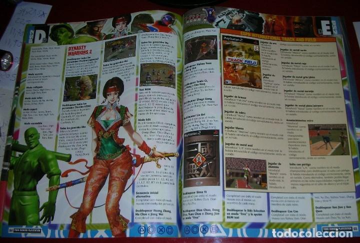 Videojuegos y Consolas: Revista Playstation TODO CÓDIGOS:2600+1000 cód. PS2,Nuevos Trucos para PSX. 98PÁG. NUEVA,COMPLETA - Foto 7 - 118333283