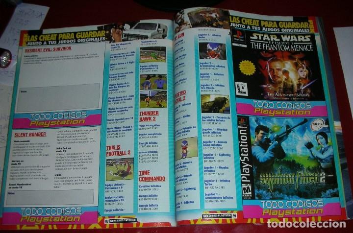 Videojuegos y Consolas: Revista Playstation TODO CÓDIGOS:2600+1000 cód. PS2,Nuevos Trucos para PSX. 98PÁG. NUEVA,COMPLETA - Foto 8 - 118333283