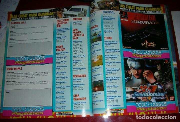 Videojuegos y Consolas: Revista Playstation TODO CÓDIGOS:2600+1000 cód. PS2,Nuevos Trucos para PSX. 98PÁG. NUEVA,COMPLETA - Foto 9 - 118333283