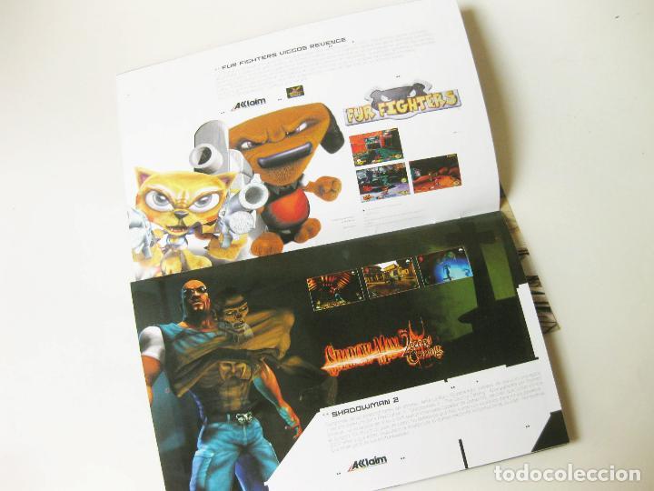 Videojuegos y Consolas: FOLLETO PUBLICITARIO CON JUEGOS DE PLAYSTATION ACCLAIM - 2 PS2 - Foto 2 - 118446291