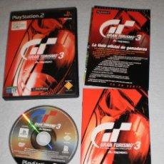 Videojuegos y Consolas: PS2 GRAN TURISMO 3. THE REAL DRIVING SIMULATOR. GT3. PLAYSTATION 2.. Lote 118463575