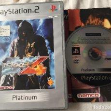 Videojuegos y Consolas: TEKKEN 4 PLATINUM PS2 PLAYSTATION 2 PLAY STATION TWO KREATEN. Lote 118751723