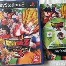Videojuegos y Consolas: DRAGON BALL Z BUDOKAI TENKAICHI 3 DRAGONBALL PS2 PLAYSTATION 2 PLAY STATION TWO KREATEN. Lote 118751847