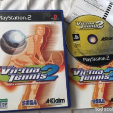 Videojuegos y Consolas: VIRTUA TENNIS 2 SEGA PROFESSIONAL TENIS PS2 PLAYSTATION 2 PLAY STATION TWO KREATEN. Lote 118751947