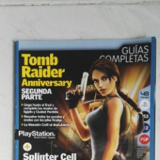 Videojuegos y Consolas: GUÍA TOMB RAIDER ANNIVERSARY SEGUNDA PARTE REVISTA OFICIAL PLAYSTATION. Lote 118971716