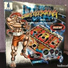 Videojuegos y Consolas: ALFOMBRA DE JUEGO PS1 PS2 ULTIMATE KICKBOXING . Lote 119215119